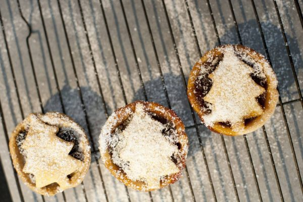 Delicious traditional Christmas mince pies
