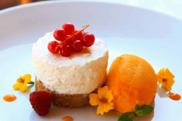 Mango & Passionfruit Cheesecake