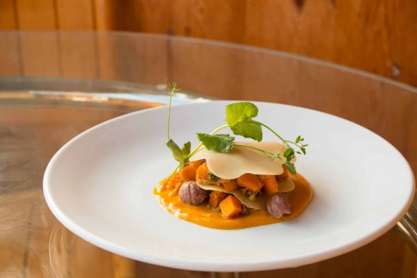 Open Pumpkin & Chestnut Ravioli