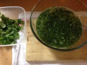 Mojito mixture