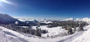 Snowy Morzine